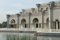 Pool at Wilayah Mosque Royalty Free Stock Images
