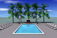 pool2 stock illustrationer