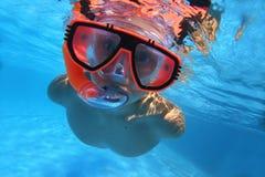 In pool7 Stockfoto