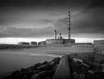 Poolbeg που παράγει το σταθμό Στοκ εικόνα με δικαίωμα ελεύθερης χρήσης