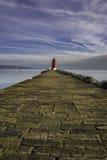 Poolbeg-Leuchtturm, Dublin Lizenzfreies Stockbild