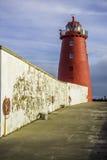 Poolbeg-Leuchtturm, Dublin Stockfotos