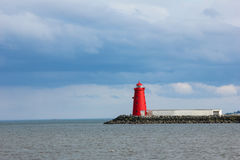 Poolbeg lighthouse Royalty Free Stock Photo