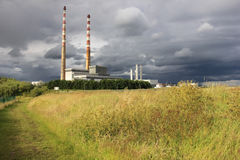 Poolbeg power plant Stock Images