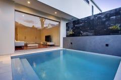 Poolbereich Lizenzfreie Stockfotos