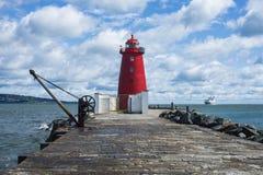 Poolberg lighthouse Stock Photos