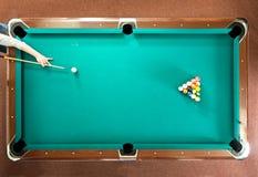 Poolbruch Stockbild
