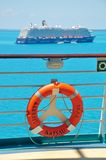 Pooldeck onboard Liberty of the Seas, Royal Caribbean. Cruises stock images