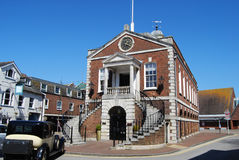 Poole市政厅 免版税库存照片