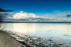 Poole海湾 免版税库存图片