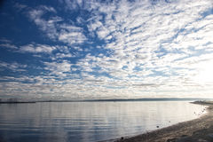 Poole海滩,英国南海岸的多西特 图库摄影
