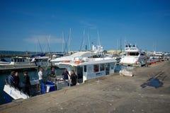 Poole Dorset het UK Royalty-vrije Stock Foto's