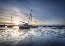 Poole-Hafen Stockfoto