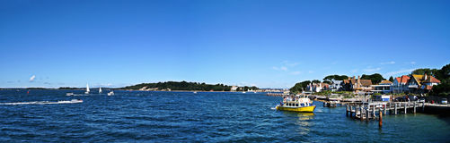 Poole Hafen Brownsea Insel Lizenzfreie Stockbilder