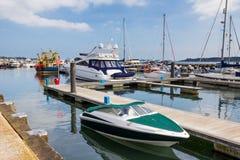 Poole-Hafen Dorset Stockfotos