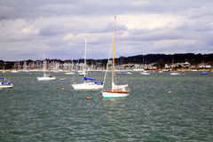 Poole Harbor, Dorset. Stock Images