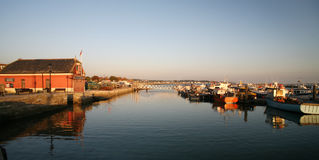 Poole Harbour and Marina Royalty Free Stock Photo