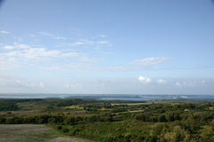 Poole Harbour Summer. Poole harbour, Dorset, UK on a beautiful summer day Stock Photos