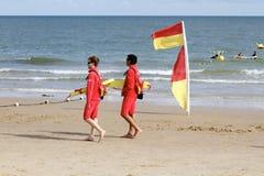 Poole lifeguards Stock Photos