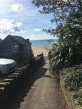 Poole plaża obrazy stock