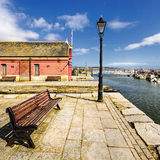 Poole Quay Stockfotos
