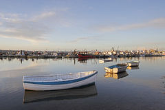 Poole Quay, Dorset, England, Großbritannien Stockbild