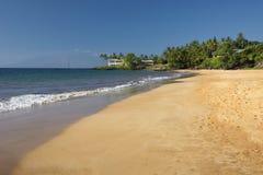 Poolenalena Beach, south shore of Maui, Hawaii Royalty Free Stock Photography