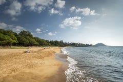 Poolenalena Beach, south shore of Maui, Hawaii Stock Photography