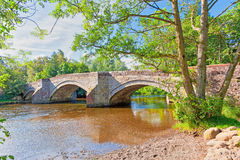Pooley桥梁 库存图片