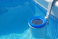 Poolfilter Lizenzfreies Stockfoto