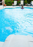 Poolfilter und -jet Stockbild
