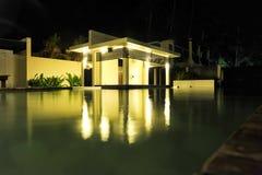 Poolhaus Lizenzfreies Stockfoto