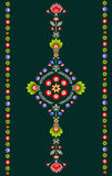 Pools borduurwerkpatroon royalty-vrije illustratie