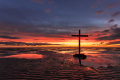 Pools of The Cross Stock Photography