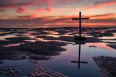 Pools of Cross Salvation Stock Image