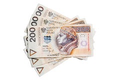 Pools geld Royalty-vrije Stock Afbeelding
