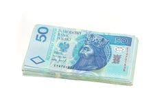 Pools geld. Royalty-vrije Stock Afbeeldingen