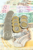 Pools geld - Zloty Royalty-vrije Stock Afbeelding