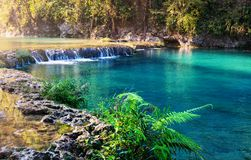 Pools in Guatemala royalty free stock photography
