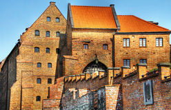 Pools kasteel in Grudziadz Stock Foto's