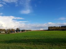 Pools landschap royalty-vrije stock afbeeldingen
