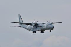 Pools Luchtmachtvliegtuig Stock Afbeeldingen