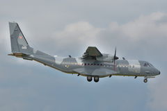 Pools Luchtmachtvliegtuig Stock Afbeelding