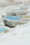 Pools in pamukkale Royalty Free Stock Photos