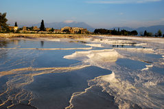 The pools of Pamukkale Royalty Free Stock Image