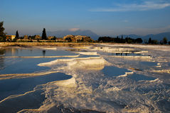 Pools of Pamukkale Royalty Free Stock Images
