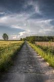Pools platteland Royalty-vrije Stock Afbeelding
