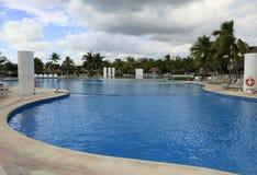 The Pools at Vidanta Riviera Maya. The Pools at Vidanta Grand Luxxe, The Grand Bliss, Mayan, Palace and Bliss Riviera Maya Mexico royalty free stock image