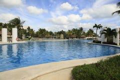 The Pools at Vidanta Riviera Maya. The Pools at Vidanta Grand Luxxe, The Grand Bliss, Mayan, Palace and Bliss Riviera Maya Mexico stock images