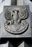 Poolse adelaar. Stock Foto